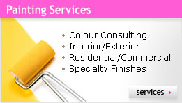 Painting Services :: px;sidential/Commercial :: Interior/Exterior :: Specialty Finishes :: Colour Consulting